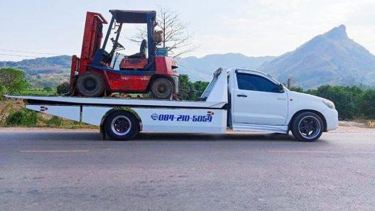 รถยกรถสไลด์ห้วยไร่